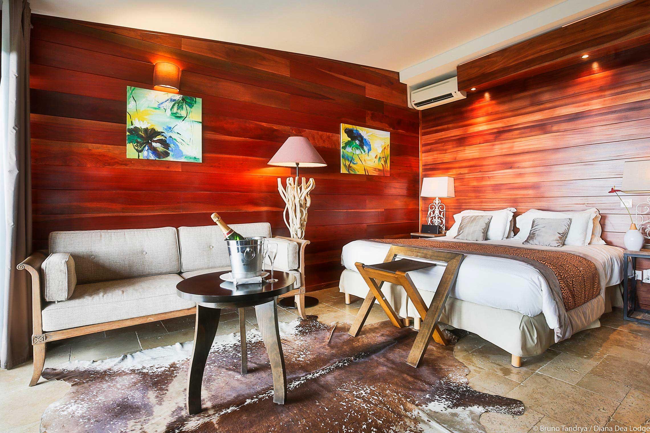 Chambres et Suites tout confort  H´tel Diana Dea Lodge La Réunion